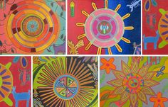 Mexican Huichol - Art Project | International Society for Education Through Art (InSEA)
