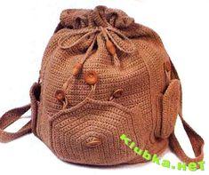 crochet rucksack