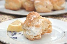 lavender & lemon creampuffs!