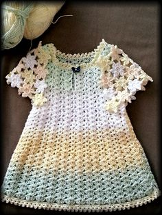 Free Crochet Patterns: Free Crochet Patterns: Baby Dress II