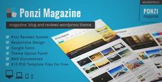 Download and review of Ponzi | Responsive WordPress Theme Magazine Review, one of the best Themeforest Magazine & Blogs themes {Download & review at|Review and download at} {|-> }http://best-wordpress-theme.net/ponzi-responsive-magazine-review-download-review/