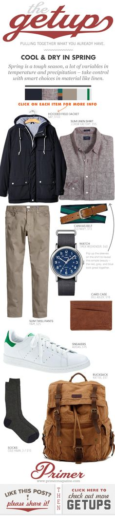 The Getup: Cool & Dry in Spring - Primer