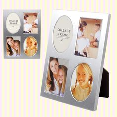 Silver Multi Photo Frame 실버 패밀리 액자