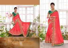 An exceptional red georgette designer saree will make you appear extremely stylish. The ethnic embroidered and patch border work with a attire adds a sign of splendor statement to your look. Comes with matching blouse. (slight variation in color, fabric & work is possible. Model images are only representative.) http://www.divineboutique.in/home/1925-delightful-georgette-patch-border-work-designer-saree-16016.html #PartywearSareesOnlineStore #PartywearSareesUK #PartywearSareesBoutiqueUSA
