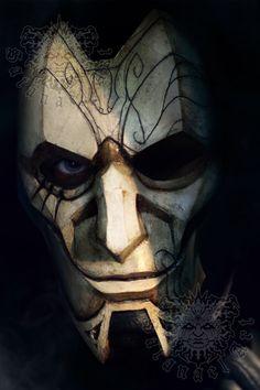 League of Legends: Jhin mask by SatanaelArt on Etsy https://www.etsy.com/listing/385578732/league-of-legends-jhin-mask