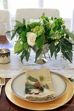 Holiday Table Ideas on Yummy Mummy Kitchen