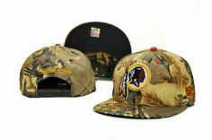 NFL-Washington Redskings Mitchell And Ness Camo Snapback Hats 038 8340! Only $8.90USD