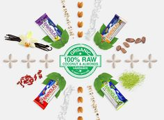 Save on Gluten Free Rawnola Bar Matcha by Earthling Organics and other Nutrition…