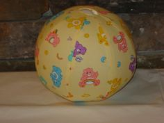 Balloon Ball with Drawstring Pouch in Care Bears Ball by KerrysCrafts, $6.50