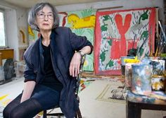 Rose Wylie: 'My mother thought women should have an escape route'