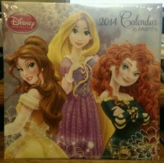 2014 Disney Princesses Wall Calendar