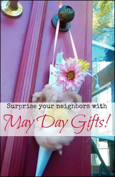 May Day Celebrate Spring With Gifts For Friends l Farm Sprouts from Hobby Farms Online l Tessa Zundel