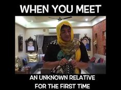 When You Meet An Unknown Relative For The First Time    2019 - Amazing Videos - YouTube The One, First Time, Meet, Videos, Amazing, Places, Youtube, Youtubers, Youtube Movies