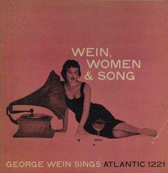 022_George Wein - Wein Women and Song (Atlantic), Guidi-tri-Arts (photoLee Friedlander, maître de la photo d'Atlantic)