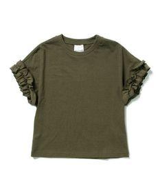 Ray BEAMS(レイビームス)の【一部予約】Ray BEAMS / ギャザー フリルスリーブ プルオーバー(Tシャツ/カットソー)|詳細画像
