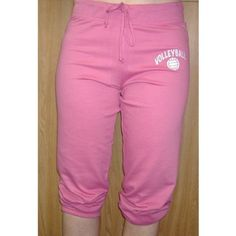 Volleyball Touchdown Capri Sweatpants (Color/Size=Black-Medium) by Sports For Her. $19.99. These volleyball touchdown sweats will look great on a player or fan of volleyball. The volleyball image is on the left leg of the pants. You can score big with our new touchdown throw back sweat capris. An old school look on the classic sweat, our throw back capris feature an elastic bottom for scrunching to the knee. Constructed from extra soft ring-spun 7 oz. 60/40 cott...