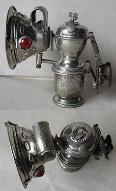 ANTIQUE CARBIDE ACETYLENE BIKE LAMP ELITH / 1910s-1920s in Collectibles | eBay