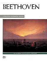 """A diverse collection of Beethoven's most familiar keyboard works is contained in this volume, including the """"Menuet in G Major,"""" """"Für Elise"""" and the first movement of the """"Moonlight Sonata."""" Other works include bagatelles, variations and easier sonata movements. Arranged in order of difficulty, each piece is prefaced by a short description. #music #sheetmusic #beethoven"""