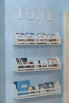 Project Nursery - Book Shelves