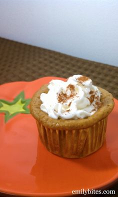 These Crustless Mini Pumpkin Pies are fast and easy to make and completely packed with pumpkin pie flavor - you won't miss the crust! Only 114 calories or 3 Weight Watchers points each!