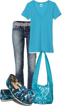 """""""Toms!"""" by lovenorchids on Polyvore love, love, love the bag"""