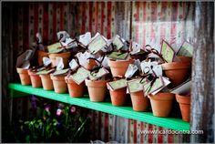 Lembrancinha verde - sementes de amor perfeito - #diy #facavocemesmo #casamentosustentavel