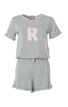 """Soft cotton tee-romper, easy to throw on as a beach cover-up or for fun in the sun. Features an """"R"""" for Riverdale! Romper has a loose/baggy fit, so size down for a more snug fit! Riverdale Shirts, Cool Outfits, Fashion Outfits, Womens Fashion, Riverdale Fashion, River Dale, Year 8, Betty Cooper, 14th Birthday"""