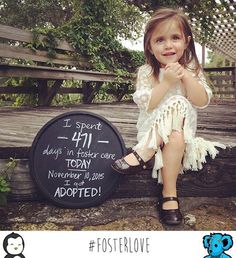 Pin for Later: These Sweet Photos of Kids Adopted From Foster Care Are Going to Make You Smile
