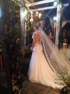 Meu vestido de casamento!