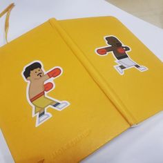 #stickers #stickerart #stickerline #graphicdesign #illustrations #characters #mayweatherpacquiao #meanimize #moleskin