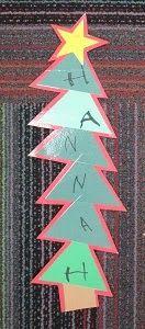 Name Trees (from Mrs. Karen's Preschool Ideas)