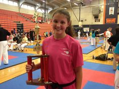 Mallory Ivey took 1st at Spar Wars in Dickson, TN, Sept. 29, 2012.