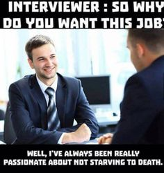 The only reason to have a job instead of a career
