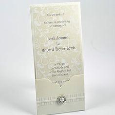 make your own pocket wedding invitation