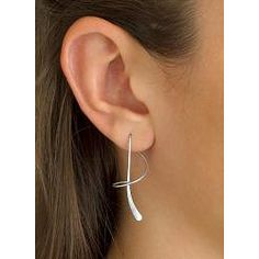 @Overstock - You'll want to wear these designer sterling silver earrings every day because of the many compliments you will receive. They are very simple and yet very modern, featuring elegant swirls of silver that hang stylishly in one solid line.http://www.overstock.com/Jewelry-Watches/Toscana-Collection-Sterling-Silver-Spiral-Earrings/6289774/product.html?CID=214117 $39.99