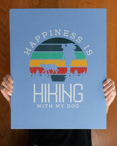 Happiness is hiking with my Dog Gifts Hike Climbing Dog Love - Light Blue hiking party, fall hiking outfit mountain, hiking gear for men #Gifts #Present #happybirthday, dried orange slices, yule decorations, scandinavian christmas Hiking Dogs, Hiking Gear, Love And Light, Light Blue, Hiking Gifts, Rottweiler Puppies, Yule Decorations, Scandinavian Christmas, Dog Gifts