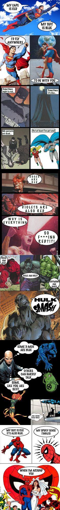 Superhero Valentines Cards - 9GAG