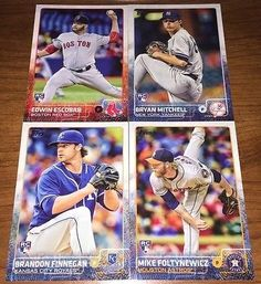 cool (4) 2015 TOPPS RC ROOKIE BASEBALL CARD LOT NICE! - For Sale View more at http://shipperscentral.com/wp/product/4-2015-topps-rc-rookie-baseball-card-lot-nice-for-sale-2/