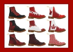 Canada Boots Added! Canada Martin Boots for Men Women and Kids now Available. Check out the collection here: http://www.artsadd.com/store/artist_kim_hunter/custom_boots-685