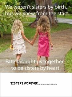 SISTERS FOREVER   Publish with Glogster!