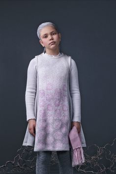 Winterrose dress by Mole Little Norway Cozy Fashion, Mole, Winter Collection, Timeless Design, Norway, Stylists, Kids, Fashion Trends, Dresses