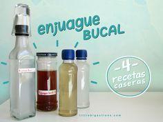 Enjuague bucal: 4 recetas caseras  | Little Big Actions