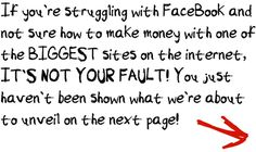 How not to struggle with making money of Facebook >>>Training inside. Get it now! It's free!