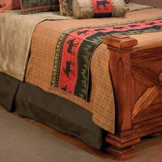 rustic bed runners - Google Search