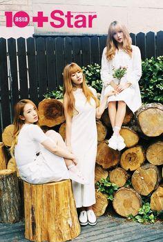 WJSN ♡ NATURAL UNIT: Meng MeiQi 미기 • 孟美岐  with Nam Dawon 남다원 & Lee Luda 이루다 for 10 Asia photoshoot 160426 #우주소녀 텐아시아 화보 #내추럴유닛