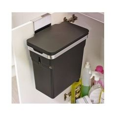 Dustbin Cupboard Bin Rubbish Cabinet Kitchen Waste Cook Door Furniture Bathroom