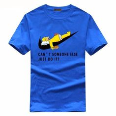 """Why can't someone else do it"" T-shirt (Regular)"