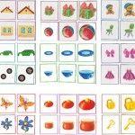 Карточки «большой — средний — маленький»