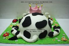 . Cow Cakes, Cake Ideas, Party, Desserts, Food, Tailgate Desserts, Deserts, Essen, Parties