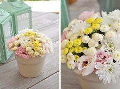 Pinga Amor: Decoração floral